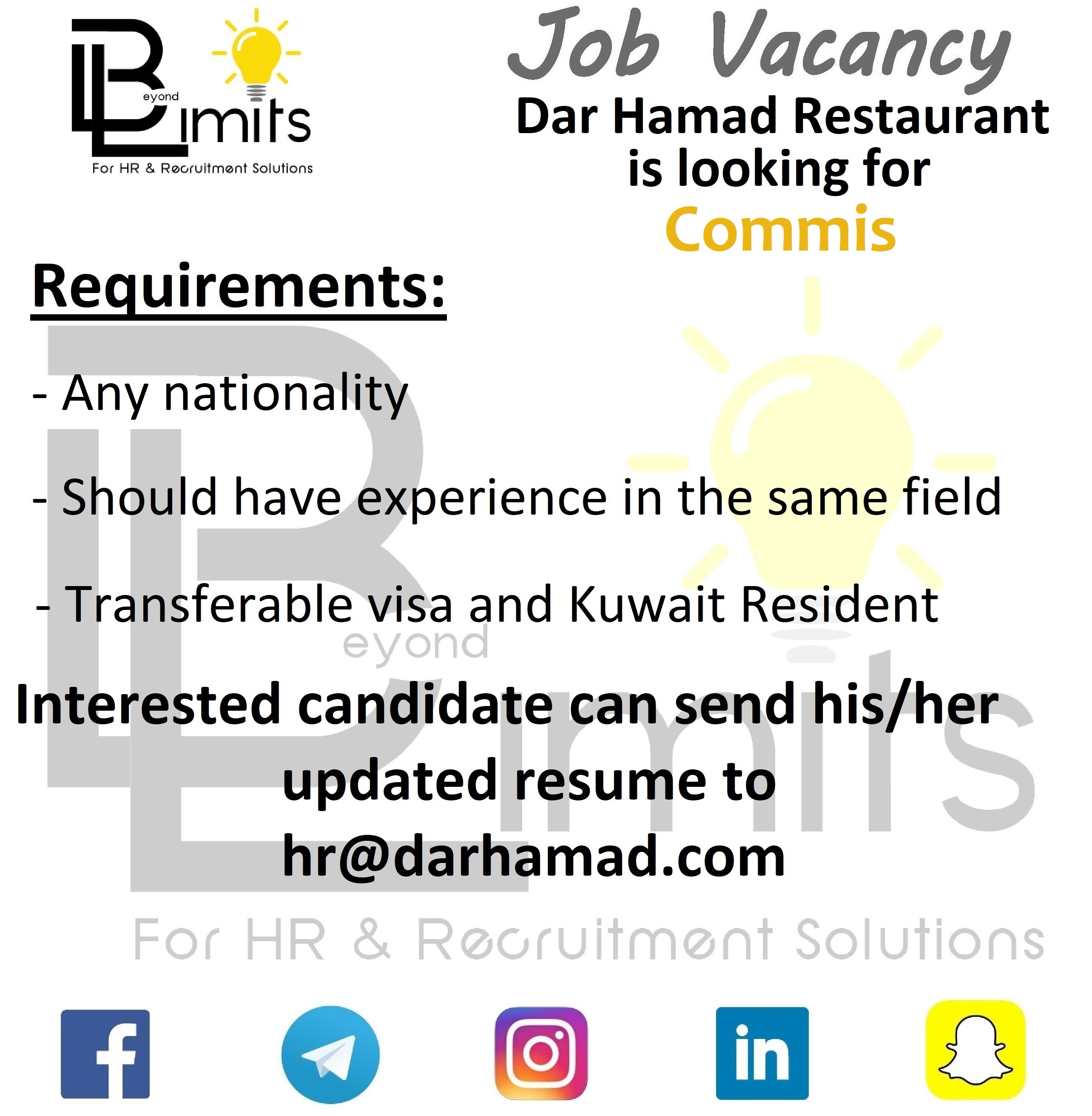 Required Commis