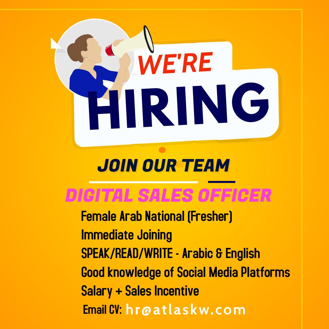 Digital Sales Officer (ARAB Female Only)